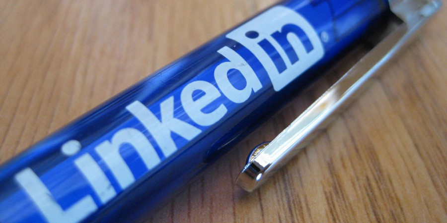 LinkedIn Branded Picture of a Pen