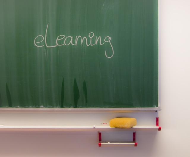 elearning chalkboard