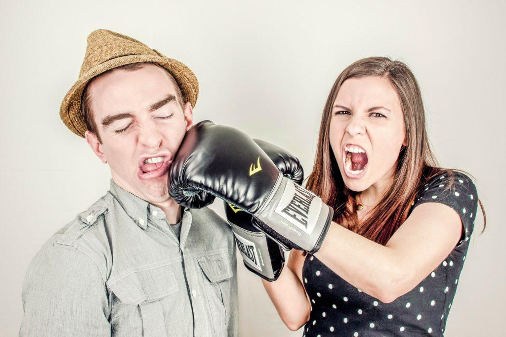 Fighting, arguing, aggressive