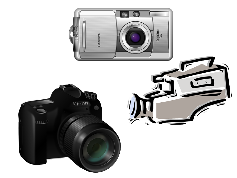 Different cameras
