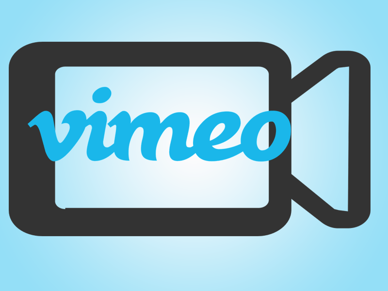 Vimeo and video camera