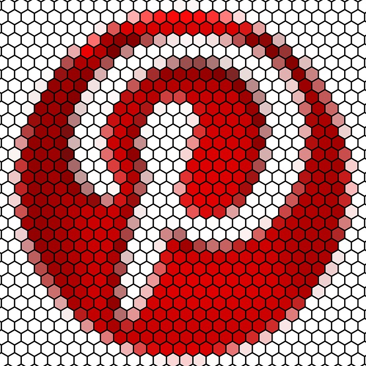 pinterest mosaic symbol