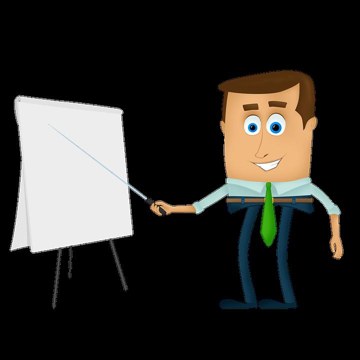 Businessman cartoon – How to Use SlideShare as a Marketing Tool