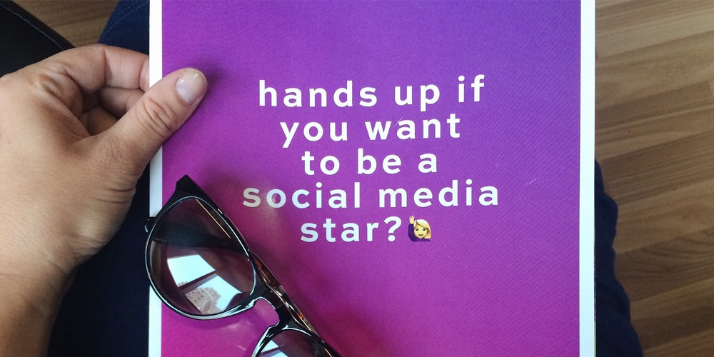 Do you want to be a social media star?